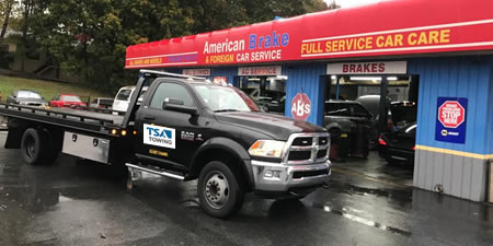 Local Sandy Springs towing services