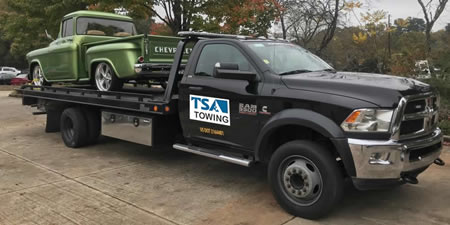 Local Sandy Springs towing